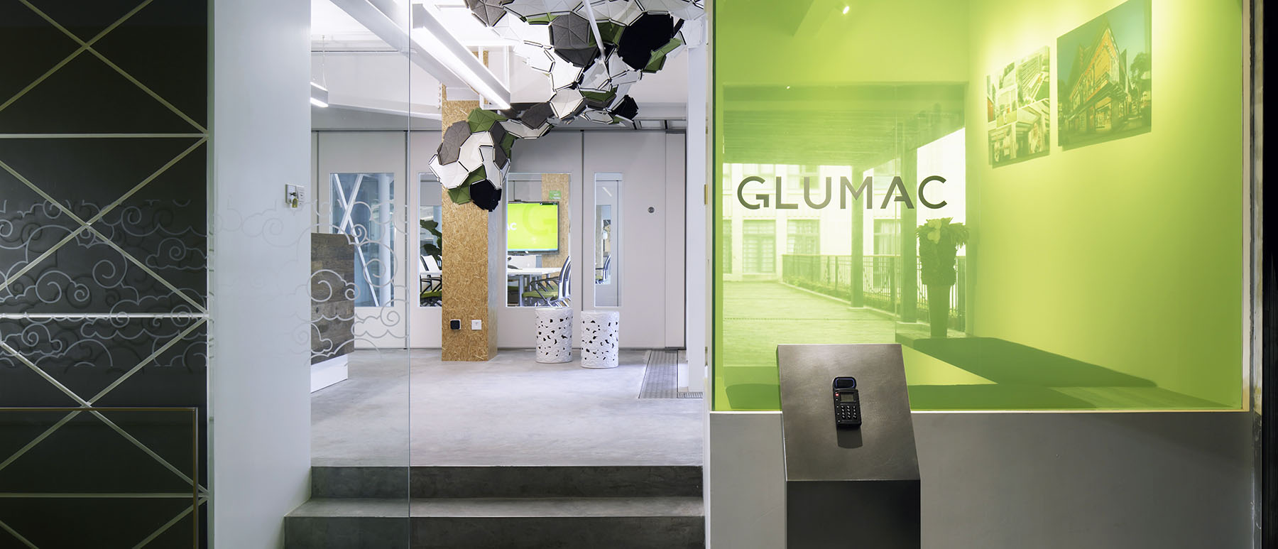 Glumac Shanghai Office Enterance, Living Building Challenge