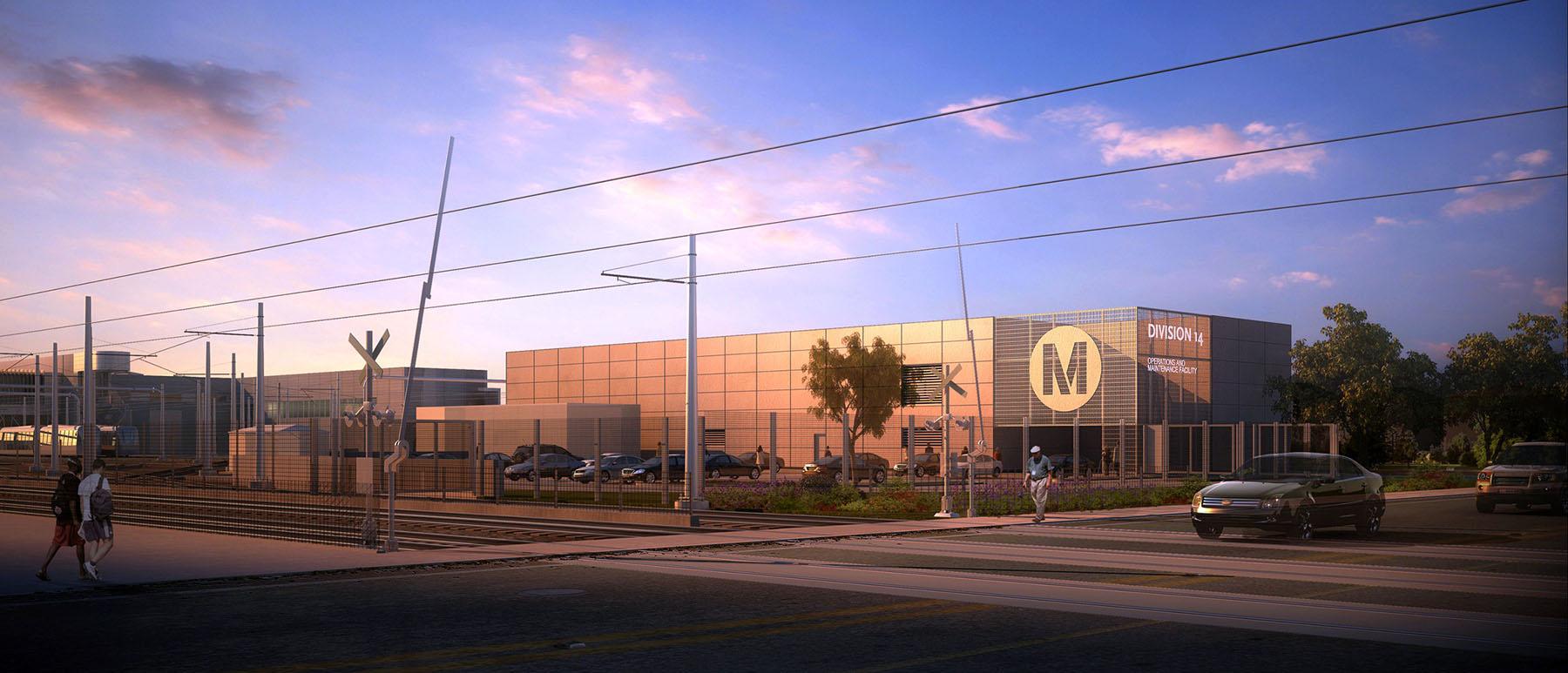 Los Angeles Metro Light Rail Expo Line