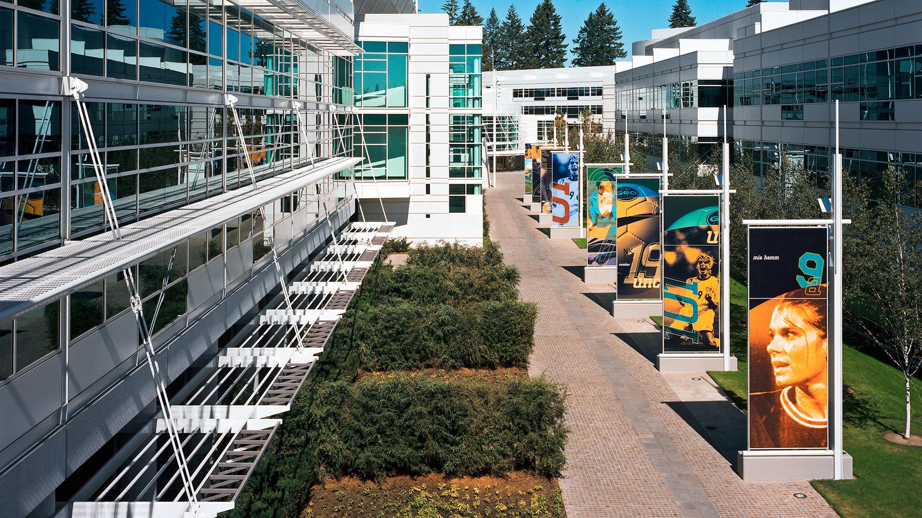 Nike Beaverton Oregon Headquarters Glumac MEP Engineering