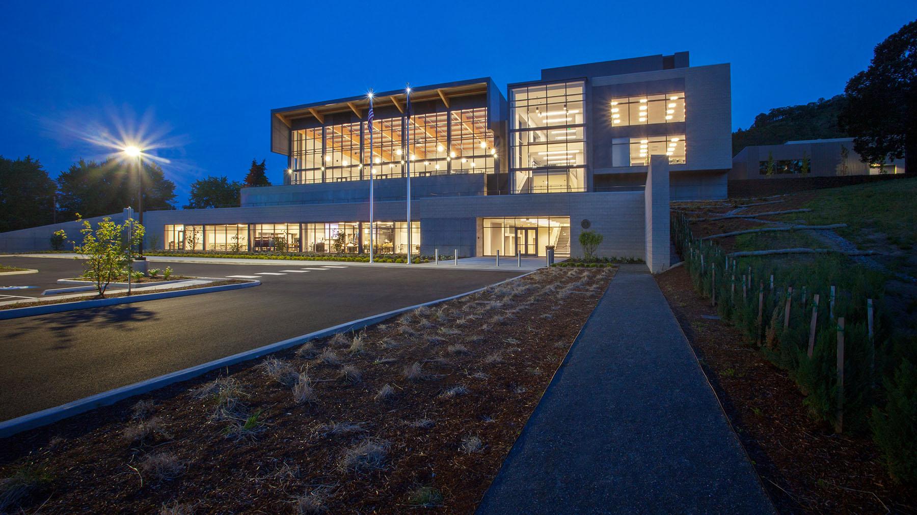 Oregon Military Department The Dalles Readiness Center, Glumac MEP Engineering