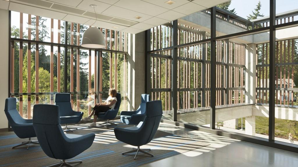 University of Washington, Discovery Hall, natural light