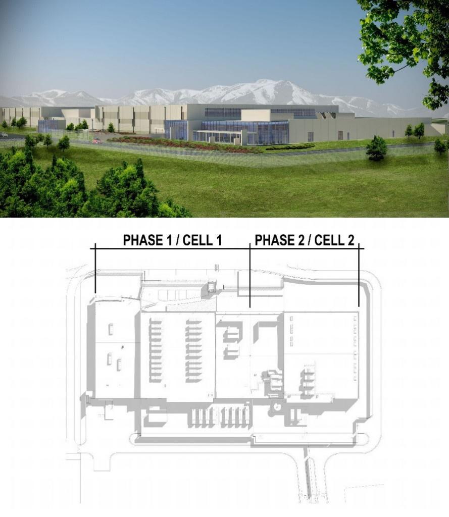 Utah Compute Facility Partial Site Plan