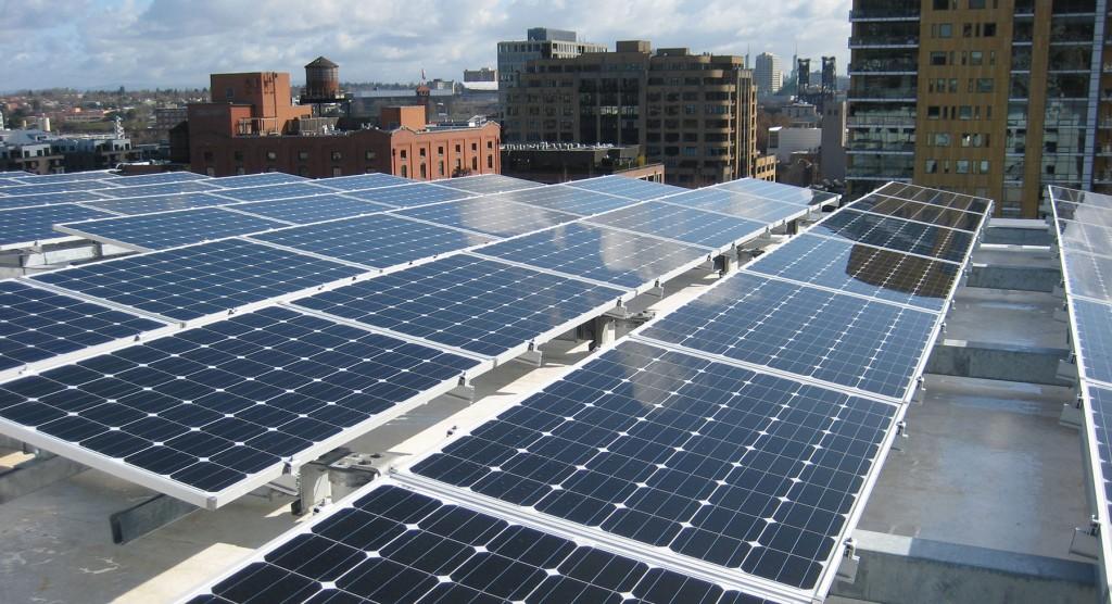 Vestas rooftop solar photovoltaic system, Glumac