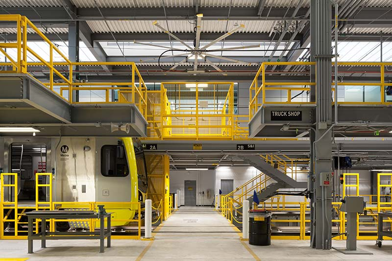 MTA Ops Facility - Glumac MEP Engineering