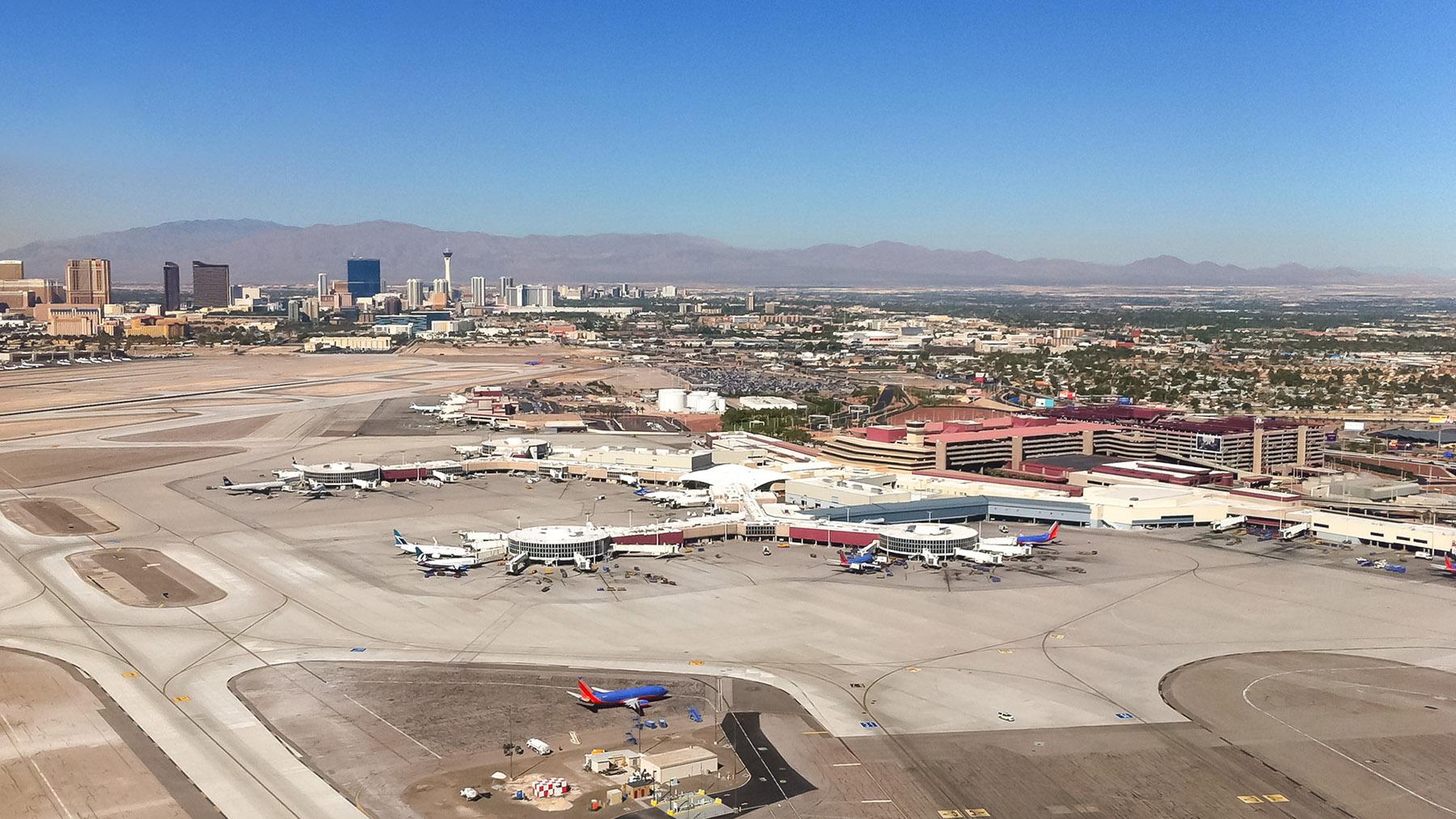 Las Vegas, McCarran Airport, Central Utility Plant, Transportation