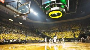 Unviersity of Oregon Matthew Knight Arena, Glumac