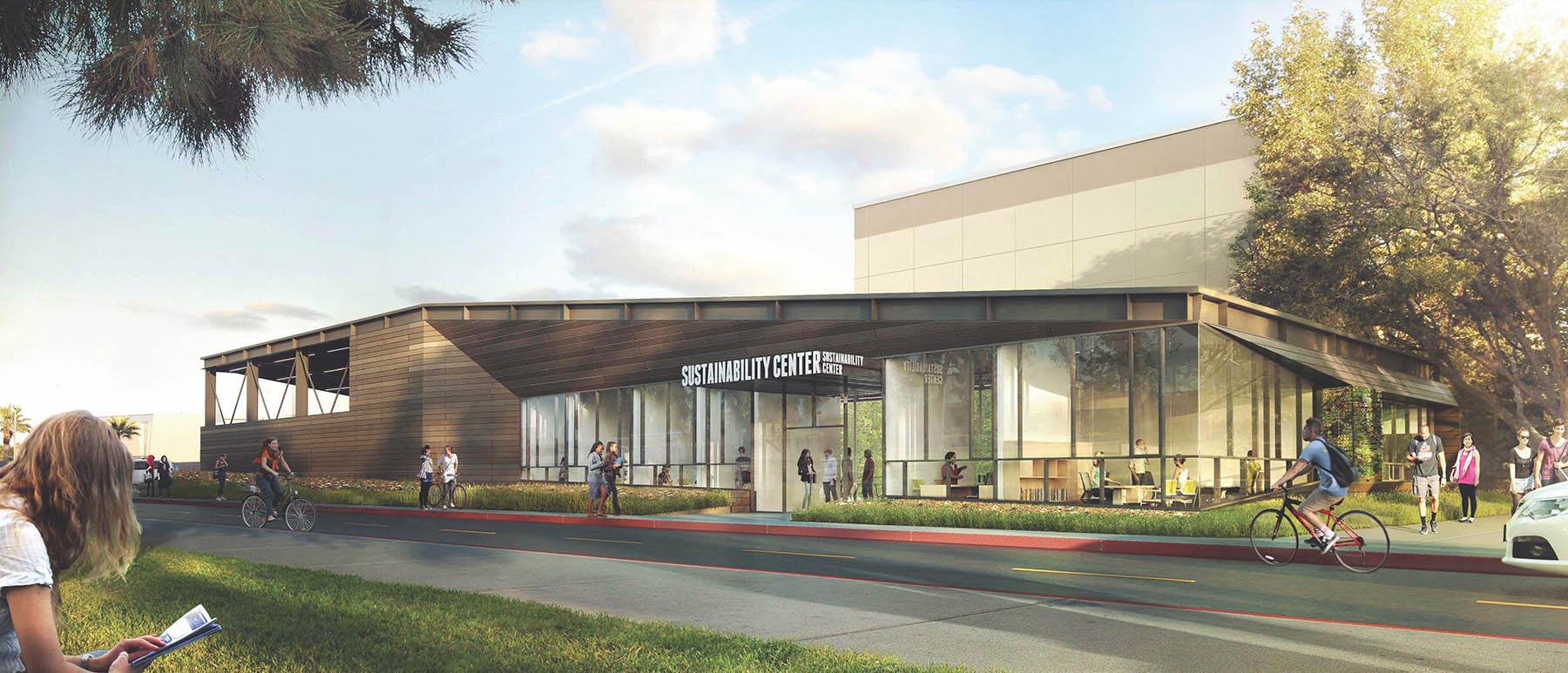 Cal State Northridge Sustainability Center, Gensler, Glumac