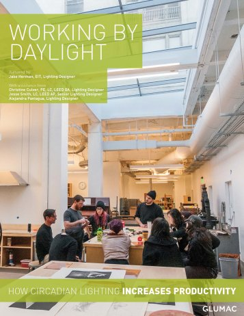 Working By Daylight How Circadian Lighting Increases Productivity, Glumac