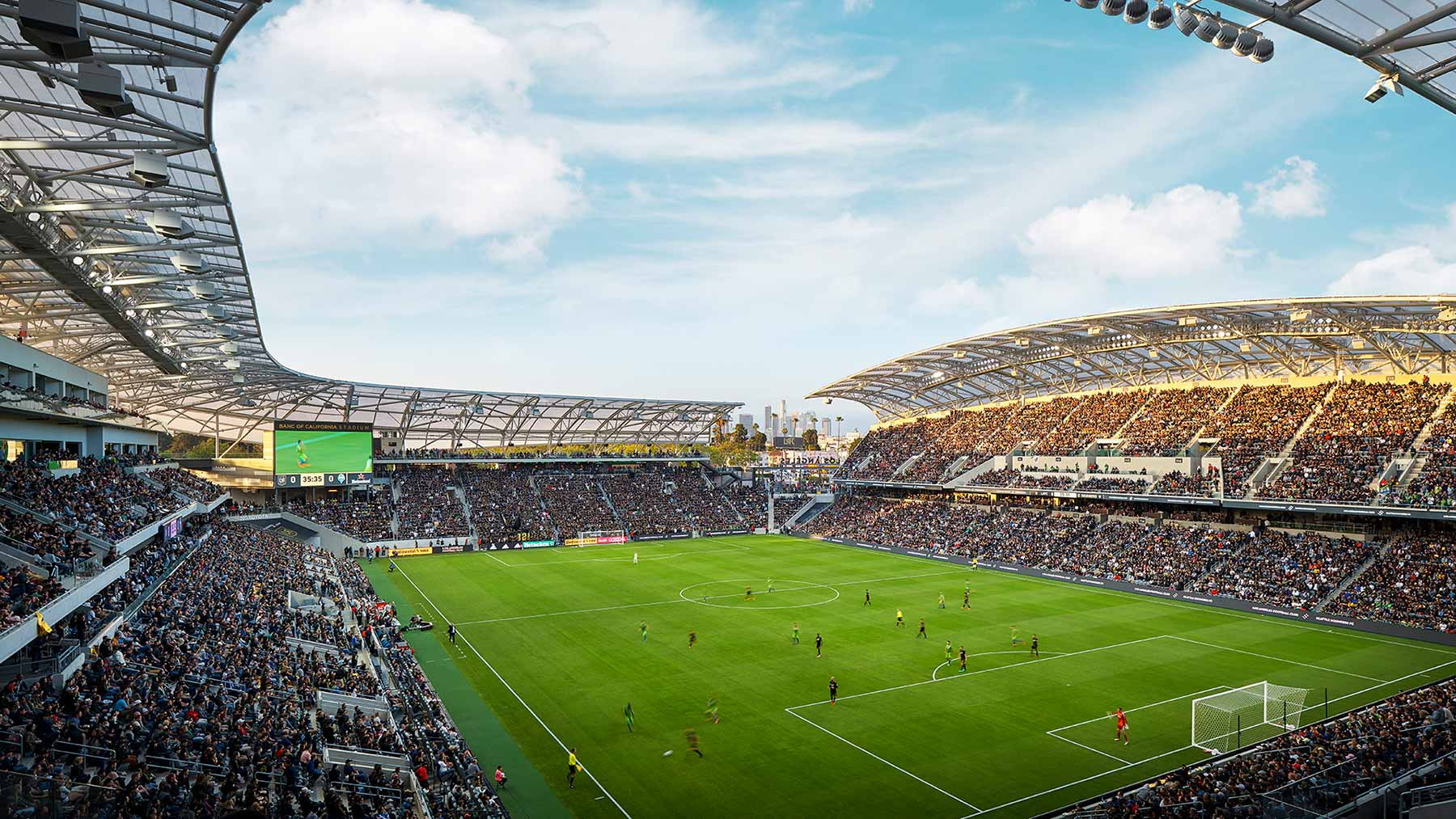 Banc of California Stadium - Glumac Building Commissioning