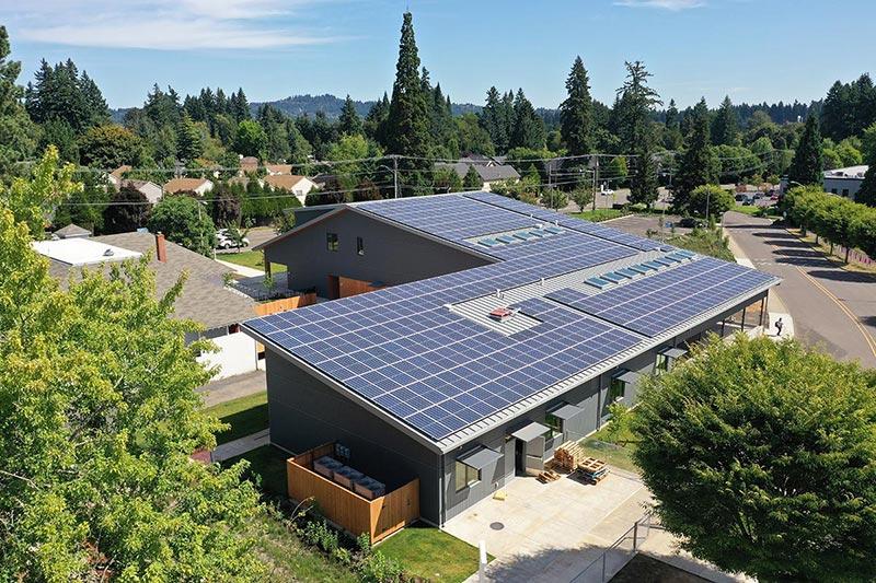 Creekside Community High School - Net Zero Energy School