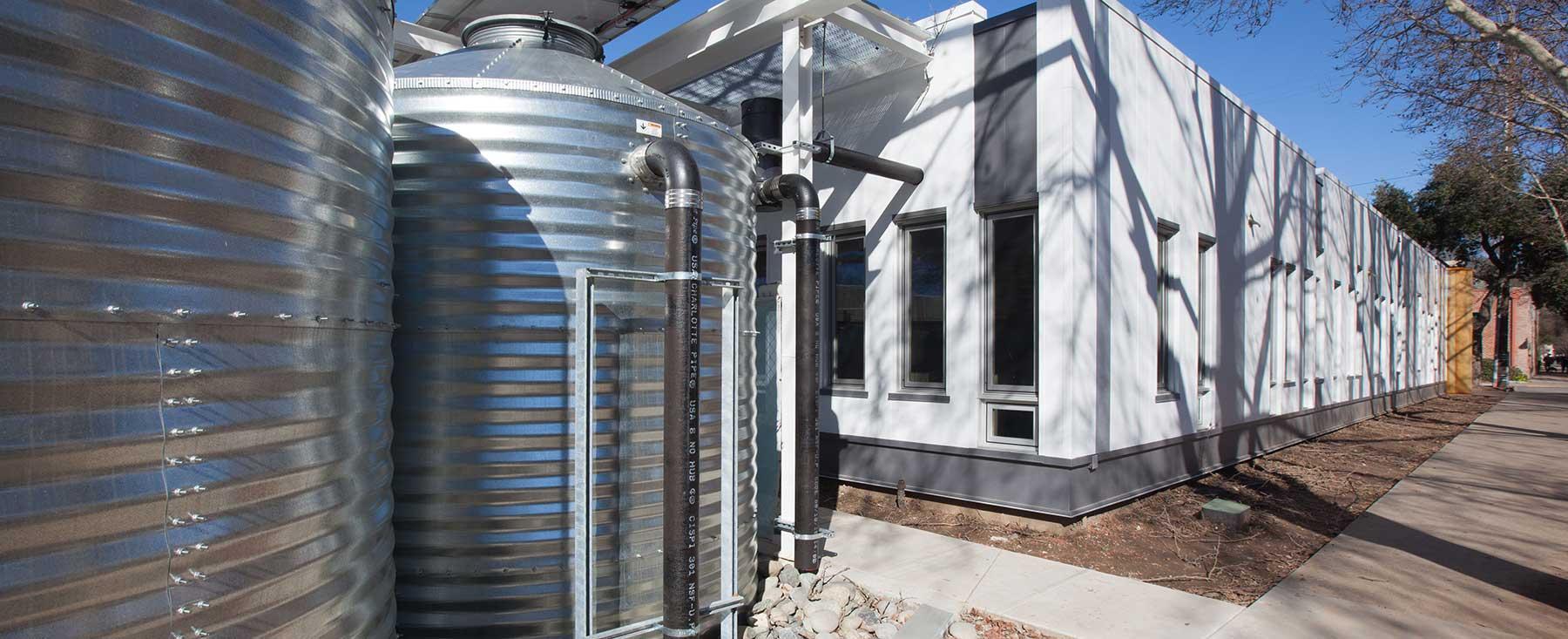 Rainwater Cistern at Arch | Nexus SAC
